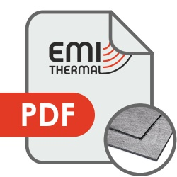 Metalised Conductive Foam Gaskets Data Sheet